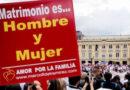 Caminan contra el matrimonio gay y el aborto en Republica Dominicana